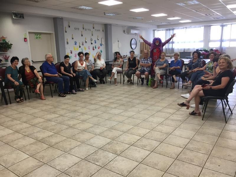 מפגש מתנדבי א.מ.ץ